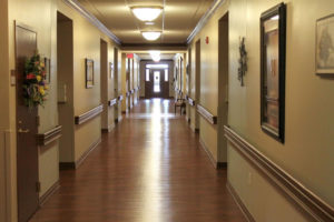 Assisted Living Hallway