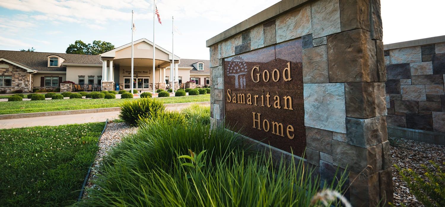 Good Samaritan Home Sign